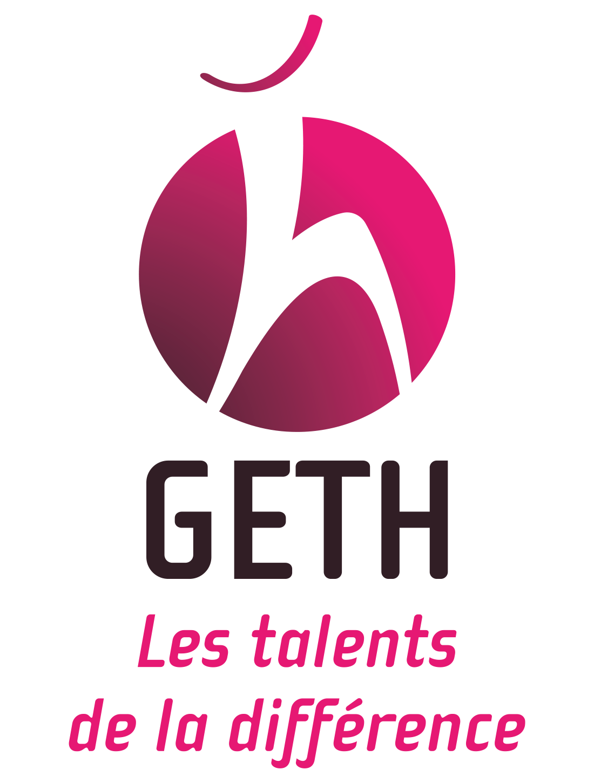 Logo du GETH - Les talents de la différence