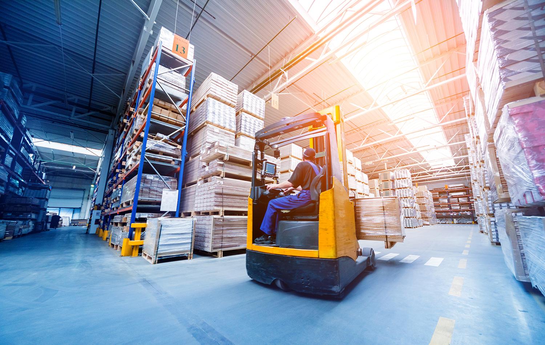 Visuel d'une offre d'emploi du GETH (groupement d'employeurs de travailleurs handicapés) pour un poste de cariste d'entrepôt.